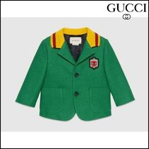 【GUCCI(グッチ)】 Baby cotton jacket with crest