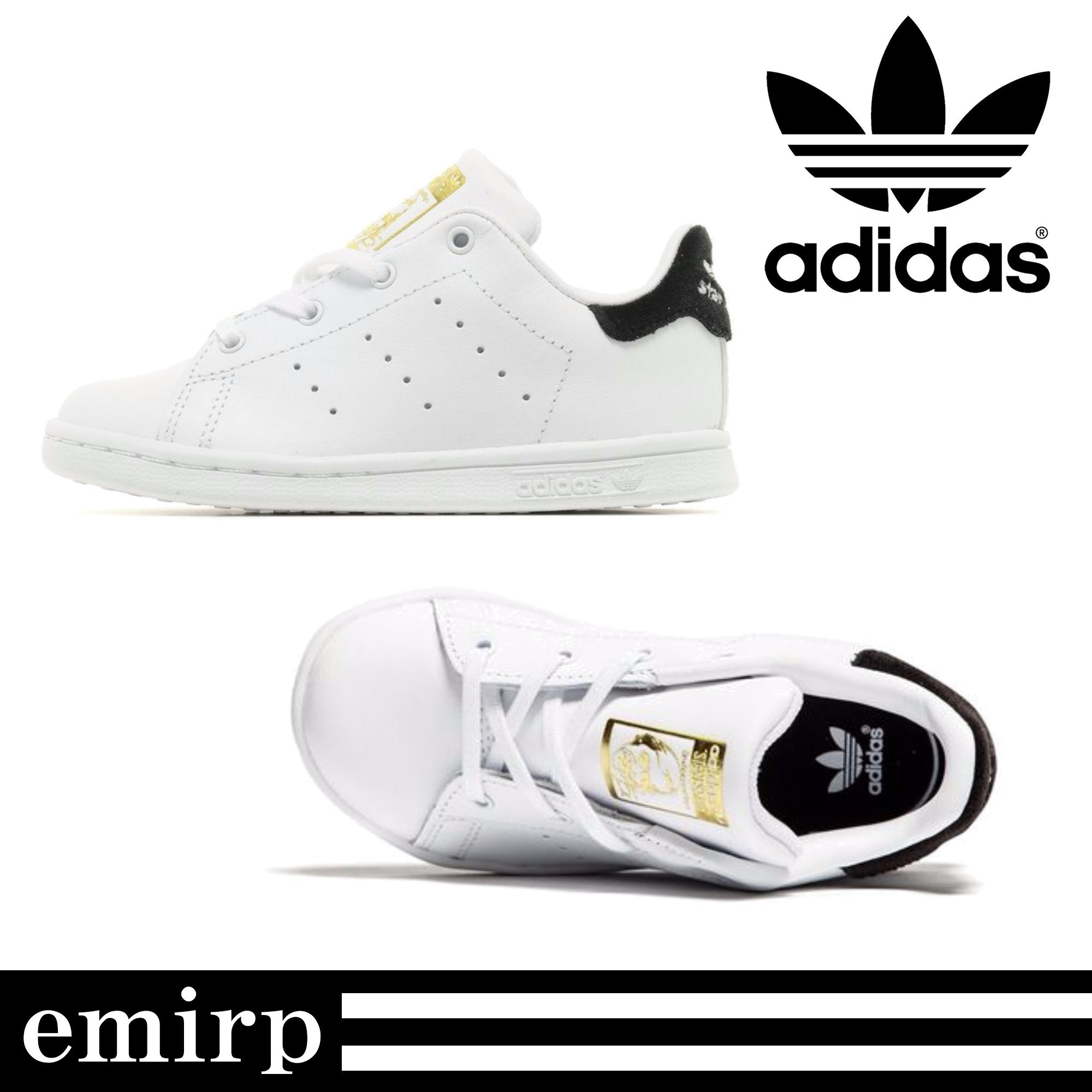 adidas★BABYキッズ★STAN SMITH★スニーカー★