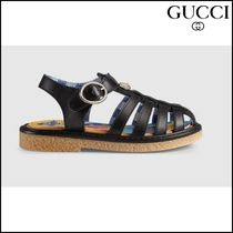【GUCCI(グッチ)】 Toddler leather sandal