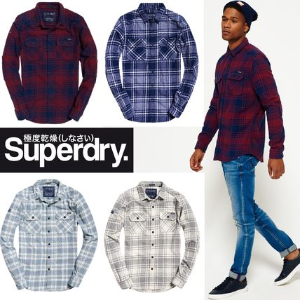 Superdry(極度乾燥しなさい)★Milled Flannel Shirt 全4色