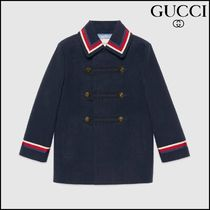 【GUCCI(グッチ)】 Childrens cotton jacket with Sylvie Web