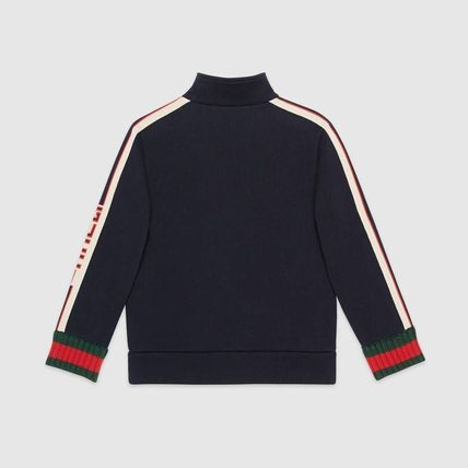 GUCCI キッズアウター 【GUCCI(グッチ)】 Childrens sweatshirt with Gucci jacquard (2)