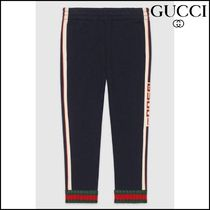 【GUCCI(グッチ)】 Childrens pant with Gucci jacquard trim