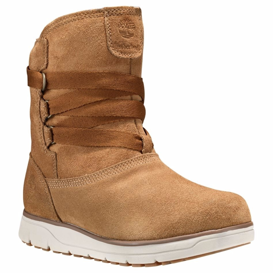 Timberland   WOMEN'S LEIGHLAND PULL-ON WATERPROOF BOOTS