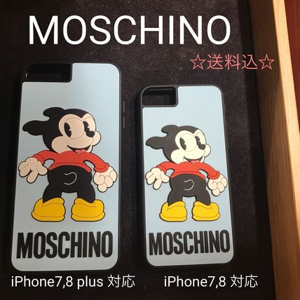 MOSCHINO Bimbo☆ iPhone7,8 iPhone plus7,8 対応 送料込