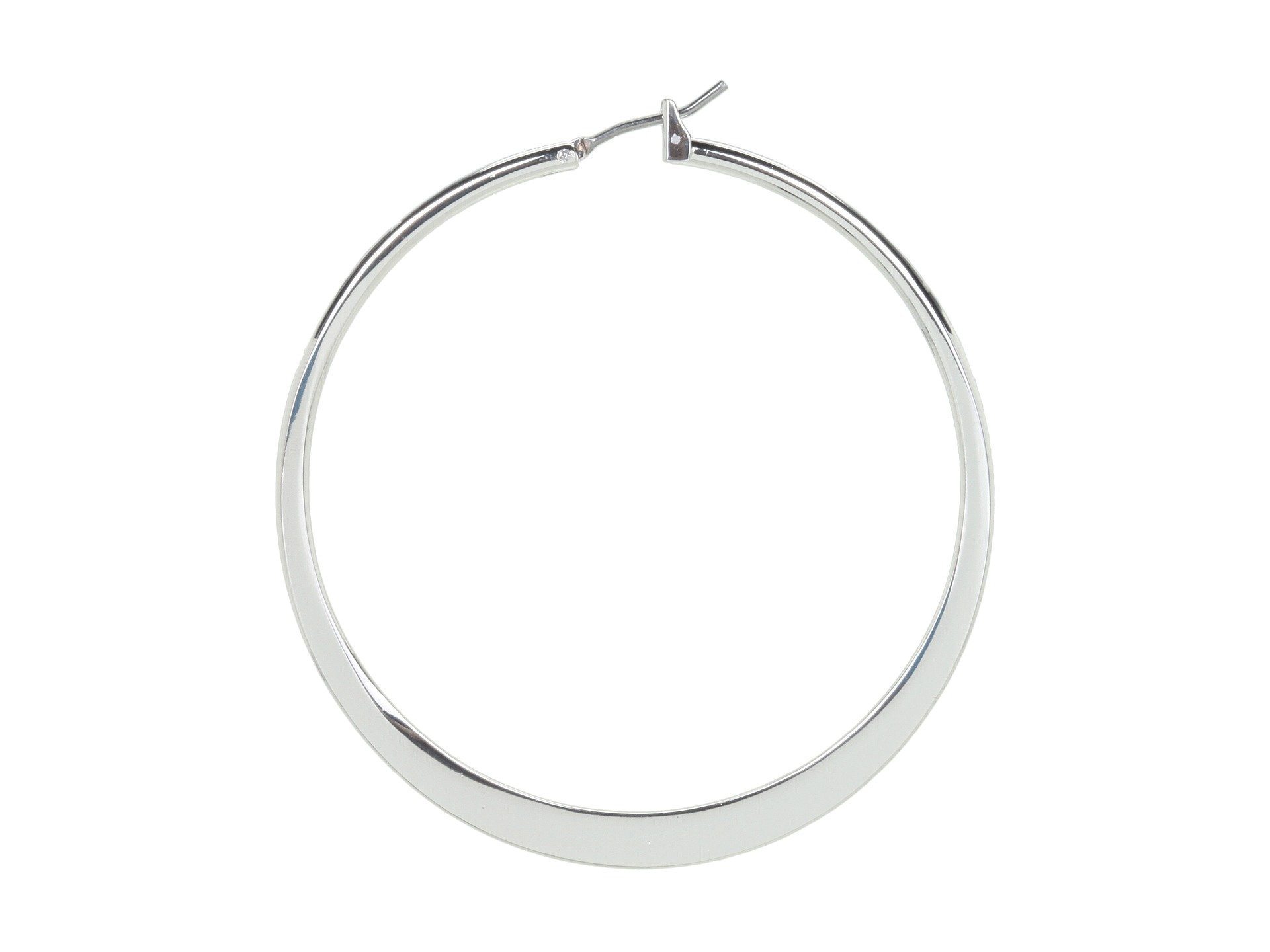 "LAUREN RALPH LAUREN★2"" Knife Edge Hoop▽送料関税込"