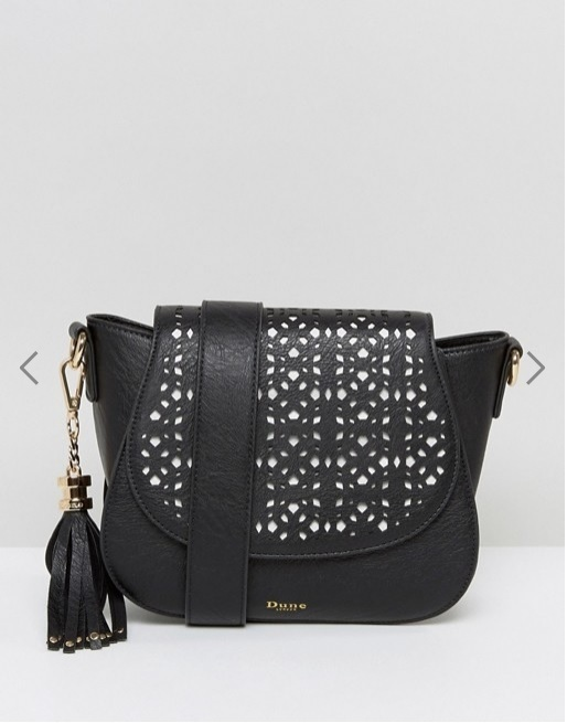 Dune Laser Cut Cross Body Bag