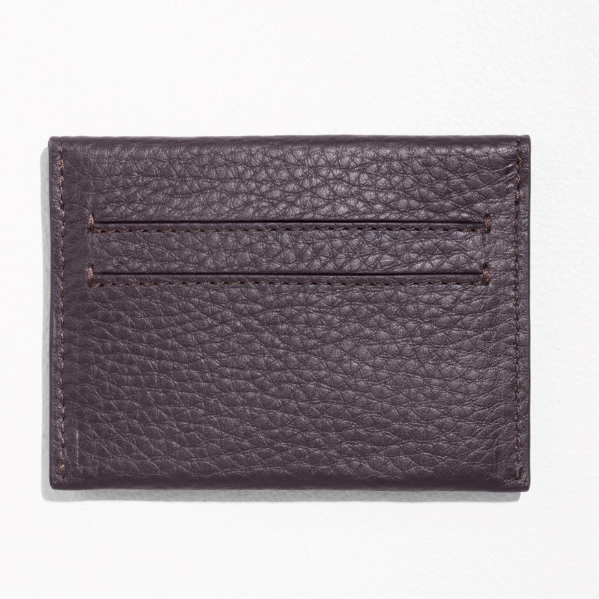 """& Other Stories""Leather Cardholder Burgundy"
