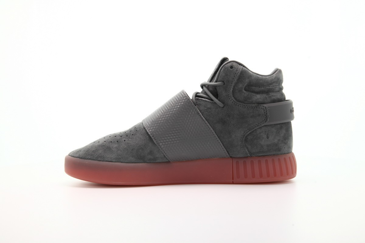 SALE☆ADIDAS☆Tubular Invader Strap Grey/Gum/送料関税込