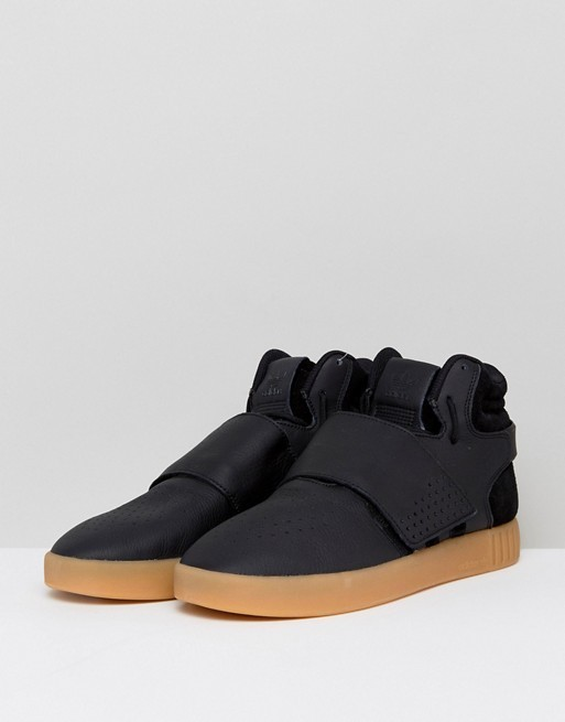 SALE☆ADIDAS☆Tubular Invader Strap Black/Gum/送料関税込