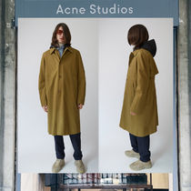 【17AW NEW】 Acne Studios_men/Midnight acorn green / コート