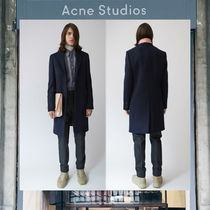 【17AW NEW】 Acne Studios_men/Gavin navy/ コートNV