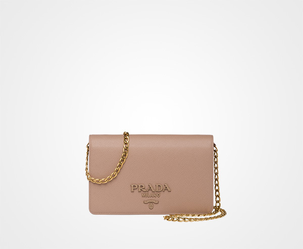 国内発関税込 2018AW PRADA Saffiano Leather Wallet Bag