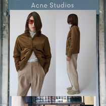 【17AW NEW】 Acne Studios_men/Mylon matt acorngreen/ブルゾン