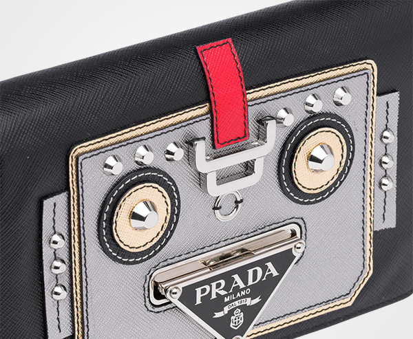 国内発関税込 2018AW PRADA Saffiano Leather Shoulder Bag