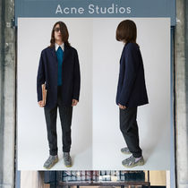 【17AW NEW】 Acne Studios_men/Mitch navy/ コートNV