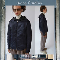 【17AW NEW】 Acne Studios_men/Mylon matt navy/ブルゾンNV