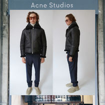 【17AW NEW】 Acne Studios_men/Ian shearling black/ジャケット