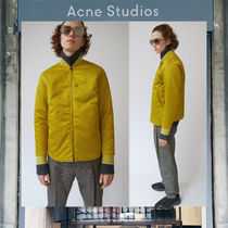 【17AW NEW】 Acne Studios_men/Mylon matt yellow/ブルゾンYE