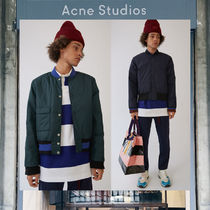 【17AW NEW】 Acne Studios_men/Mills face navy/ジャケットNV