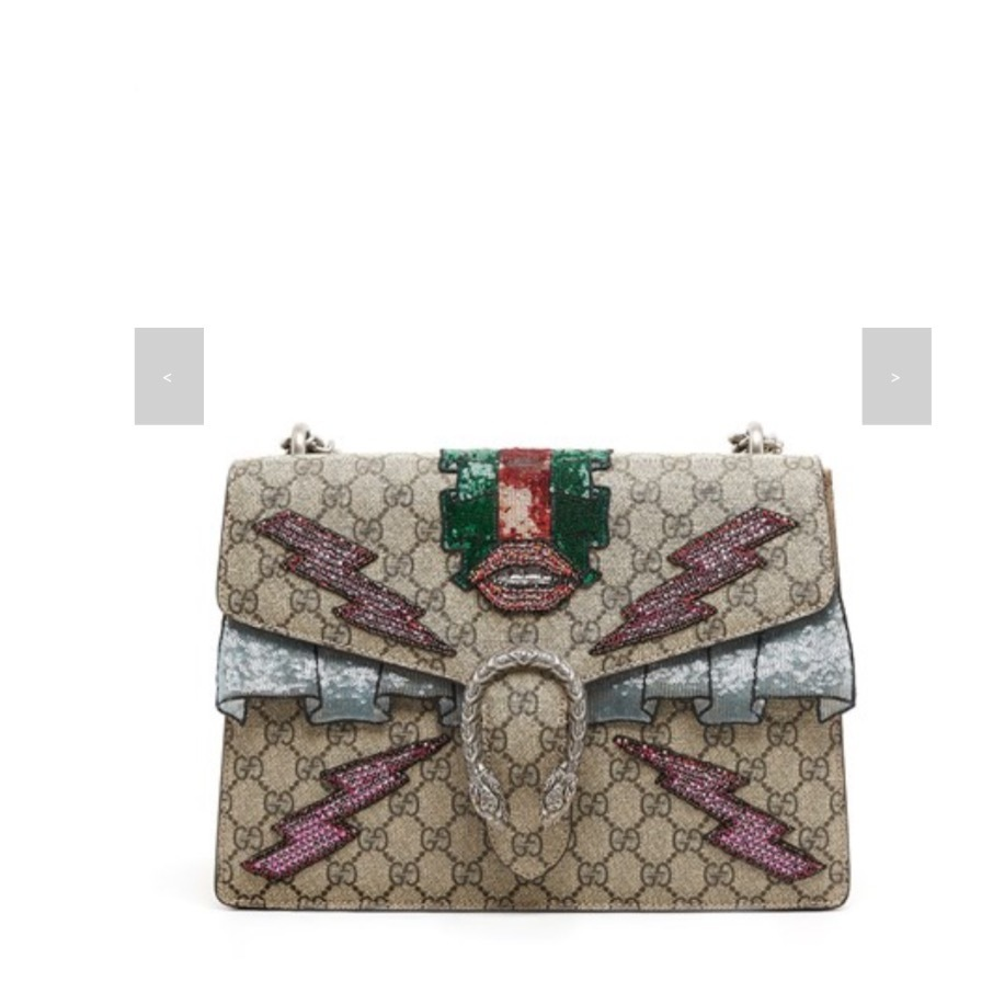 ★GUCCI《グッチ》DIONYSUS LEATHER HAND BAG  送料込み★