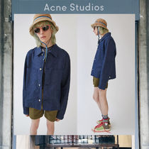 【17AW NEW】 Acne Studios_men/Bridge unwashed indigo/Gジャン