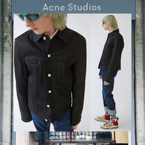 【17AW NEW】 Acne Studios_men/Pass black/デニムジャケットBK