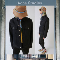 【17AW NEW】 Acne Studios_men/Tent black/デニムジャケットBK