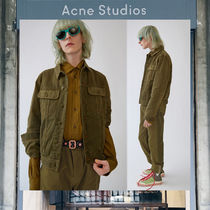 【17AW NEW】 Acne Studios_men/Tent burnt olive green/Gジャン