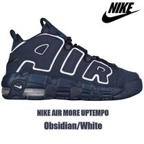 NIKE AIR MORE UPTEMPO ( Obsidian × White )