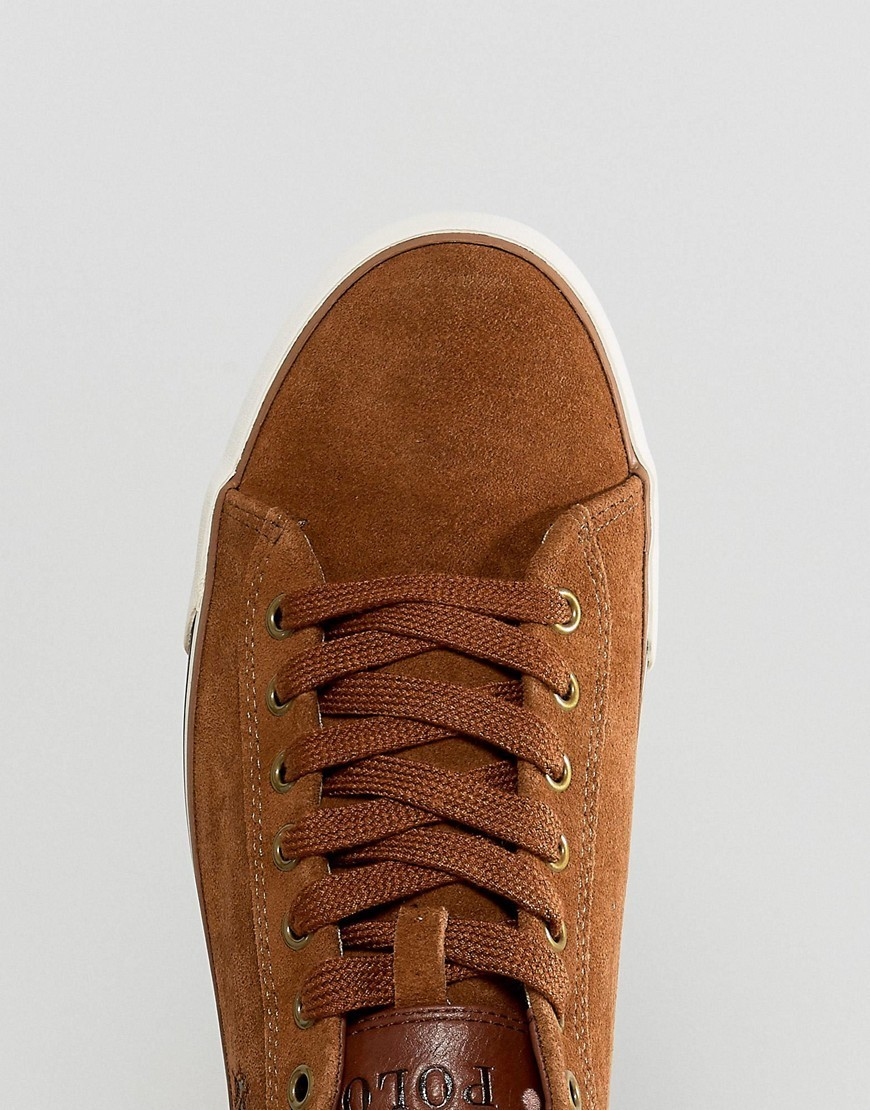 ◎送料込み◎Polo Ralph Lauren Harvey Trainers Suede in