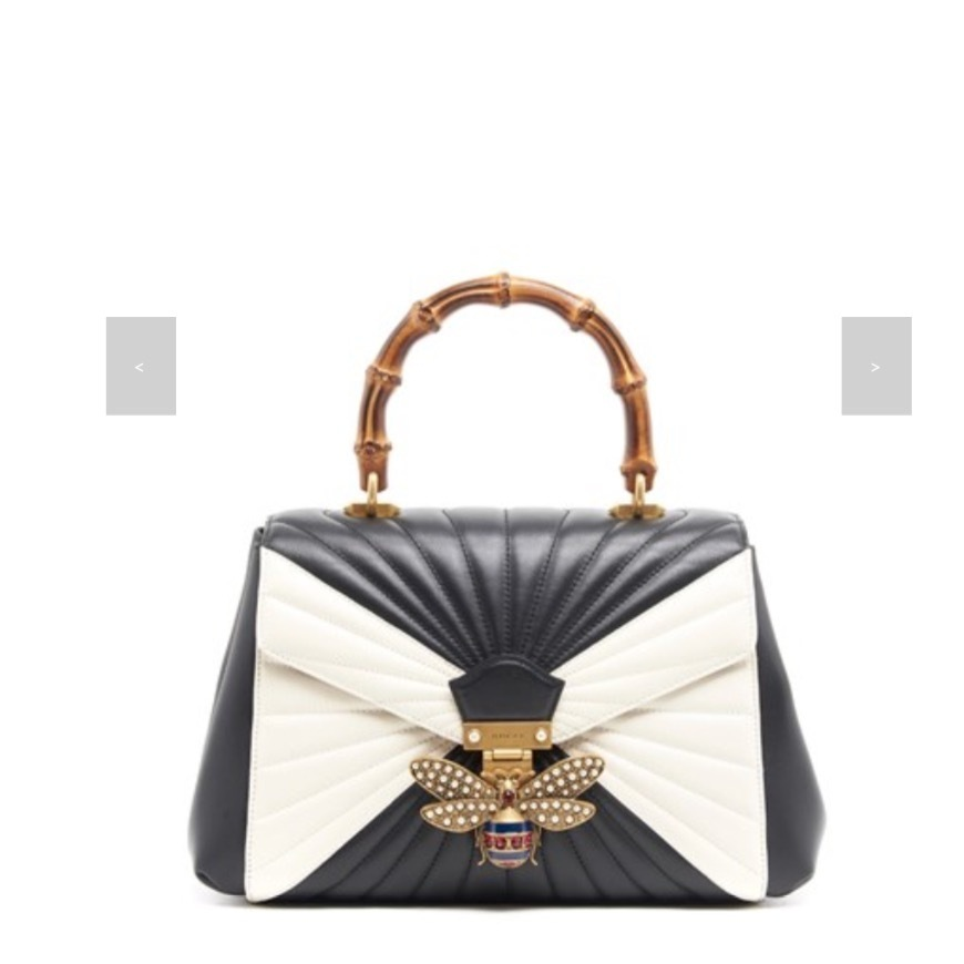 ★★GUCCI《グッチ》LEATHER BAMBOO HAND BAG  送料込み★★