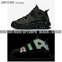 NIKE AIR MORE UPTEMPO ( Black × Black )