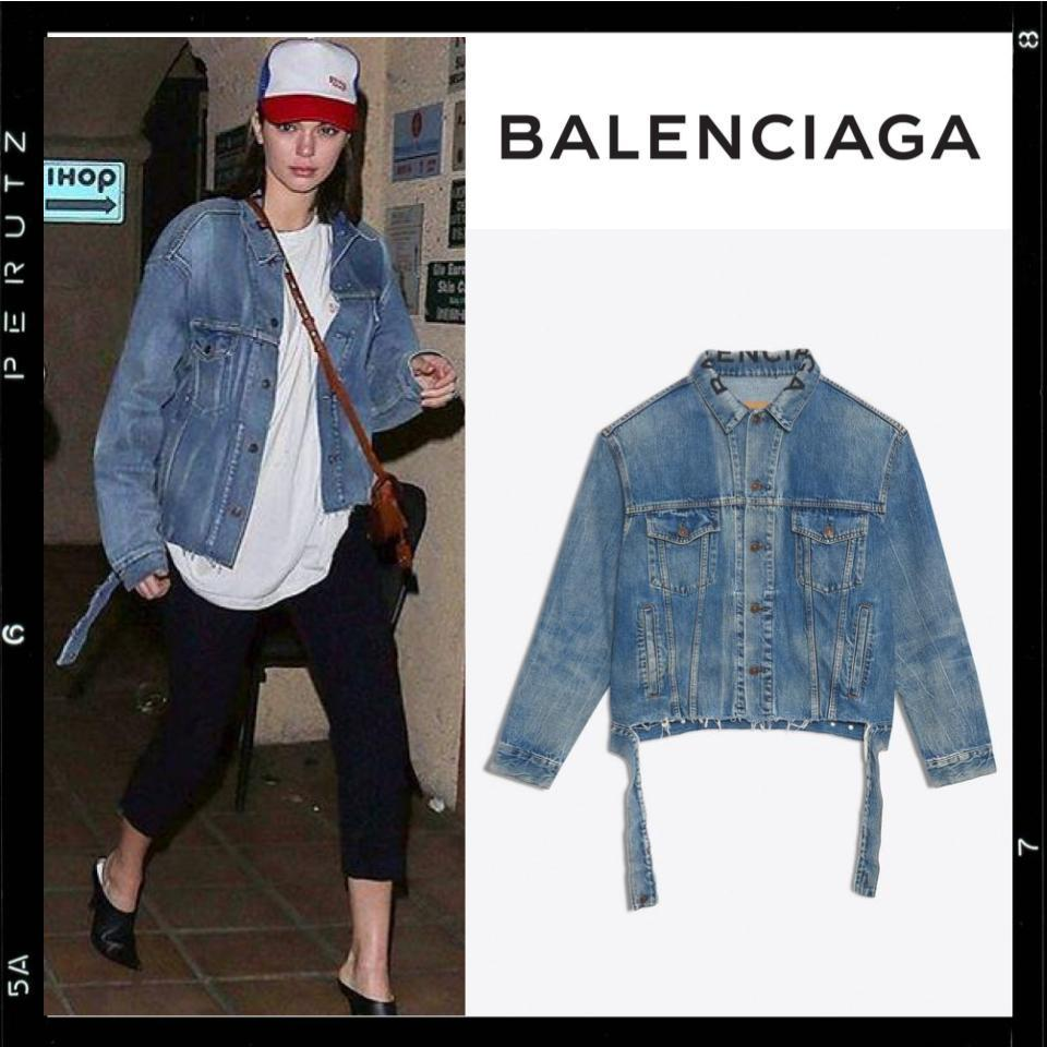 国内発【BALENCIAGA】Oversized Cut Waistband Jacket