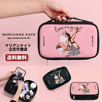 Marianne kate(マリアンケイト) メイクポーチ 【即納・送料無料】MARIANNE KATE ラバーガール化粧ポーチ(L)