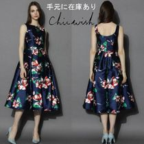 手元に在庫あり☆Chicwish☆Romantic Era Floral Prom Dress