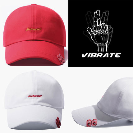 598b0a0d29c VIBRATE キャップ  VIBRATE X BUDWEISER TWIN CAN END ボールキャップ (2 color) ...