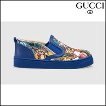 【GUCCI(グッチ)】 Toddler GG animal faces sneaker