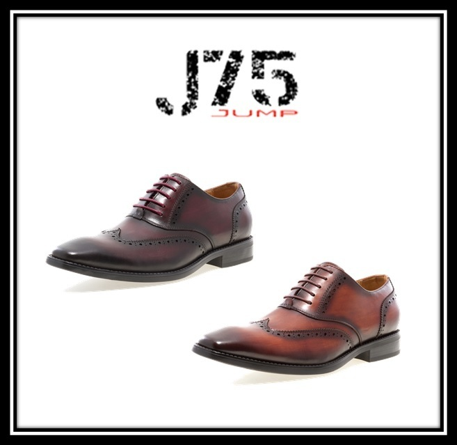 ★J75 By Jump★Liam★ウイングチップ★レースアップ