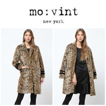 【Movint】●日本未入荷●Leopard Faux Coat with Sleeve Detail