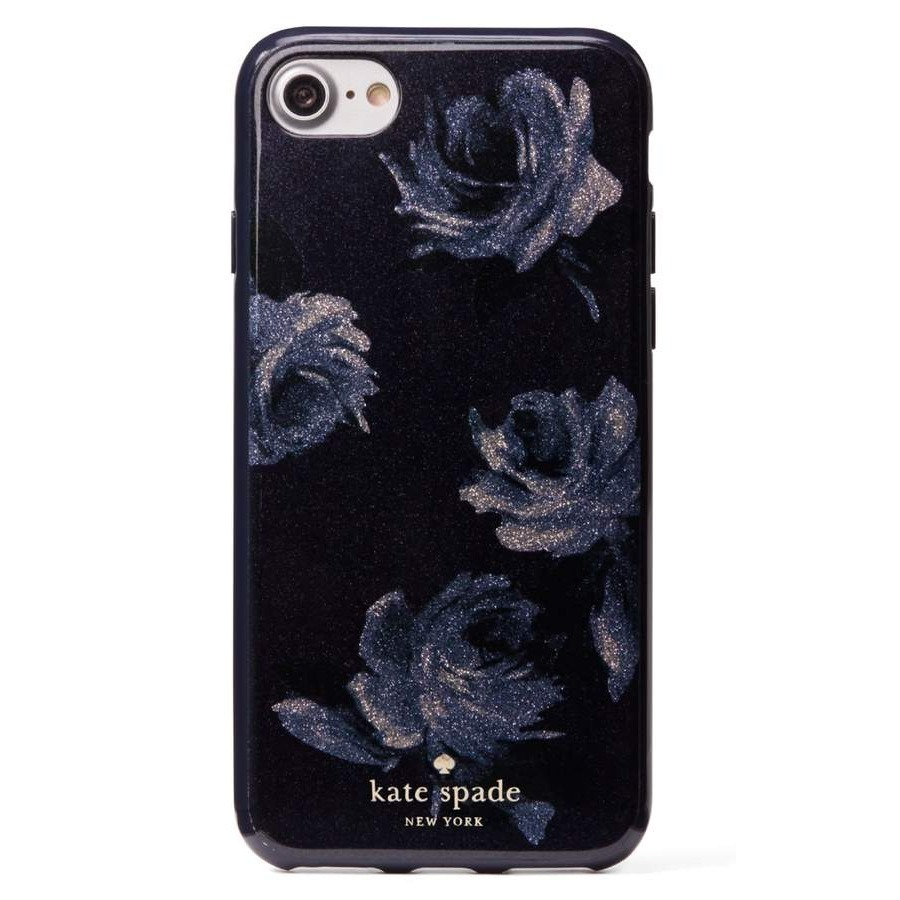 ケイトスペード night rose glitter iPhone 7/8 Plus case