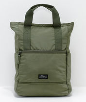 追尾/関税/送料込 adidas Originals 11 Olive Tote Backpack