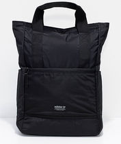 追尾/関税/送料込 adidas Originals 11 Black Tote Backpack