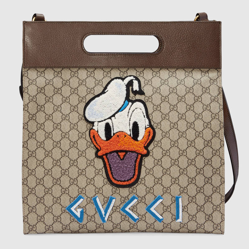Gucciグッチ/GG Supreme Donald Duck tote ドナルドダックトート