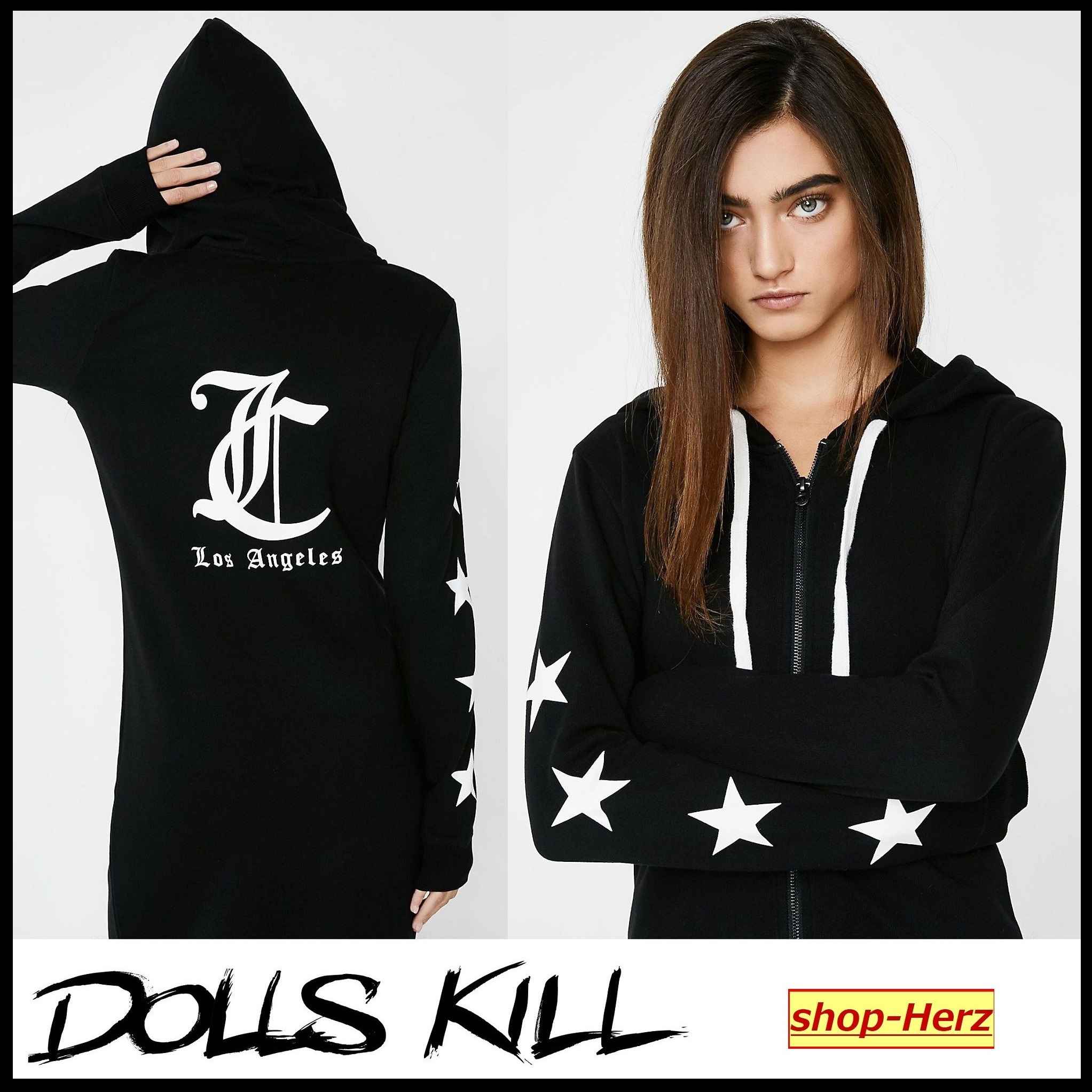 ★DOLLS KILL★ JUICY COUTURE HOODED DUSTER パーカー 関税込