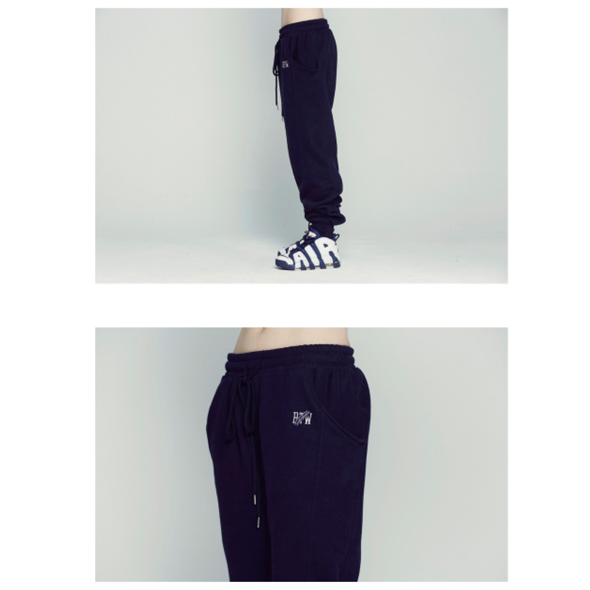 新作★ROMANTIC CROWN★RTW Sweat Pants_Navy