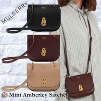 Mulberry☆mini Amberley Satchel -Grain Leather-