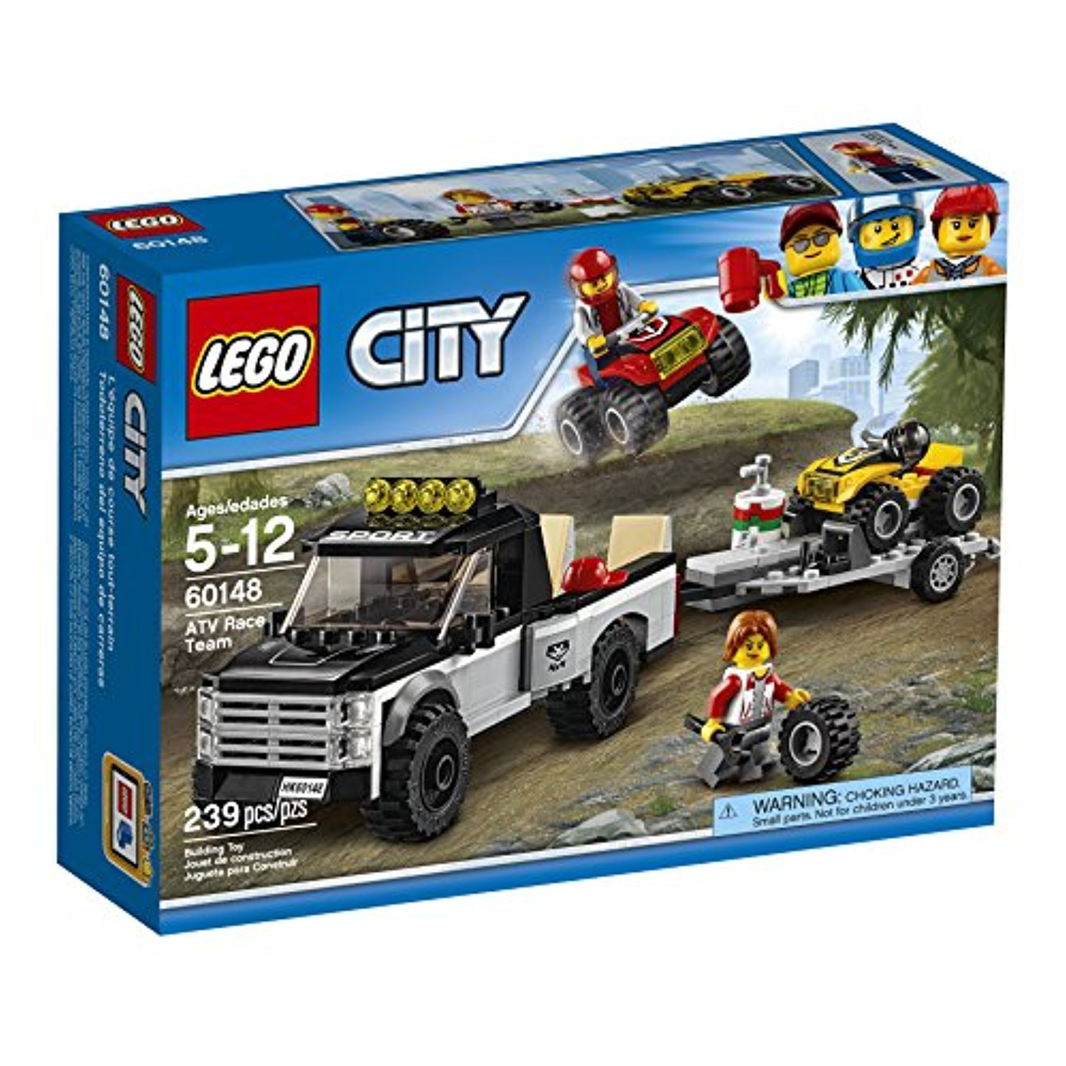 ○送料込○ レゴ専門 LEGO City ATV Race Team 60148 Best Toy