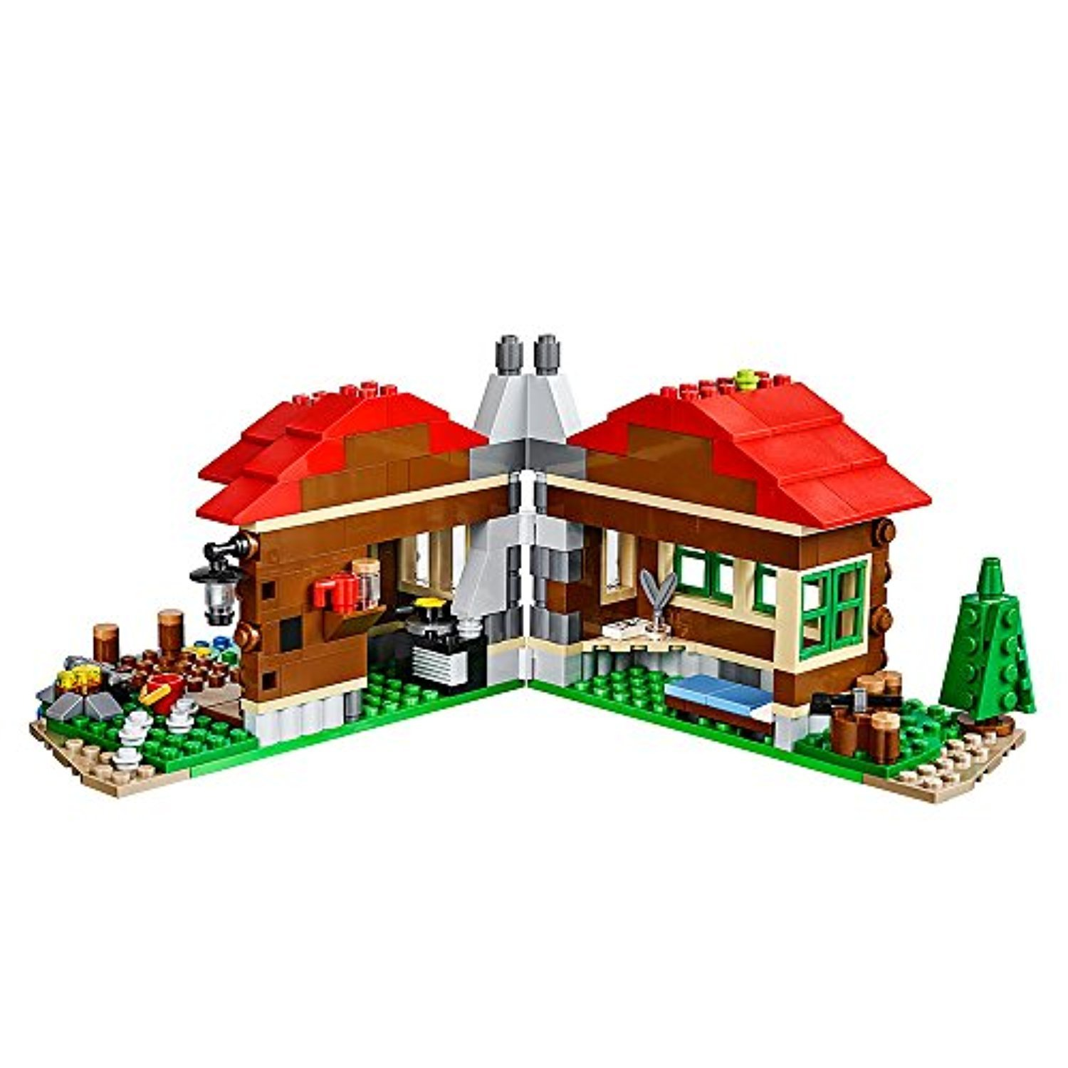 ○送料込○ レゴ専門 LEGO Creator Lakeside Lodge 31048