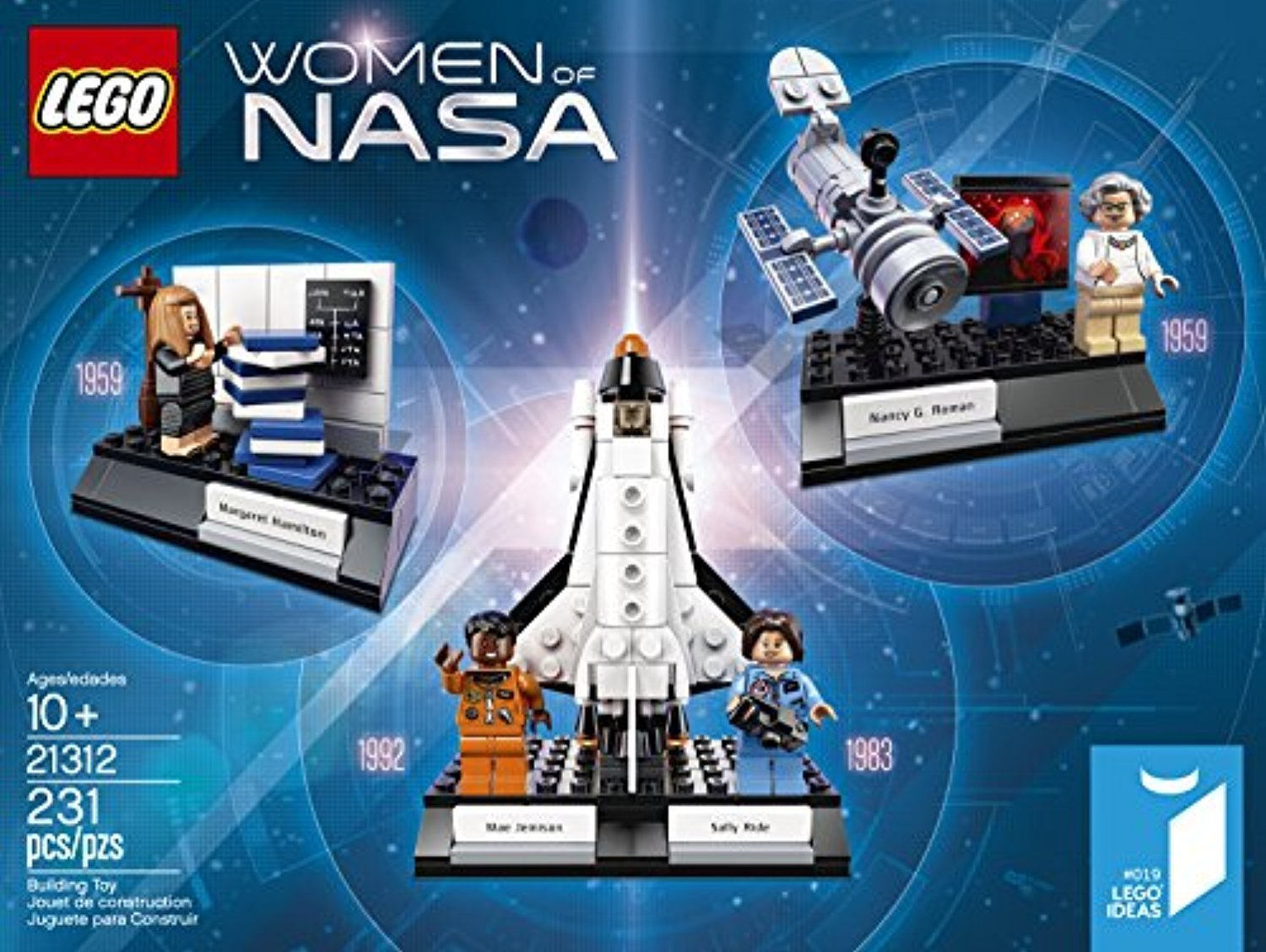 ○送料込○ レゴ専門 LEGO Ideas Women of Nasa 21312
